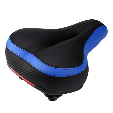 gaddrt cómodo hombres mujeres bicicleta asiento sillín de ...