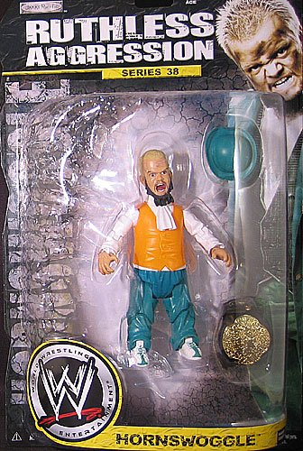 HORNSWOGGLE RUTHLESS AGGRESSION 38 WWE JAKKS ACTION FIGURE TOY -