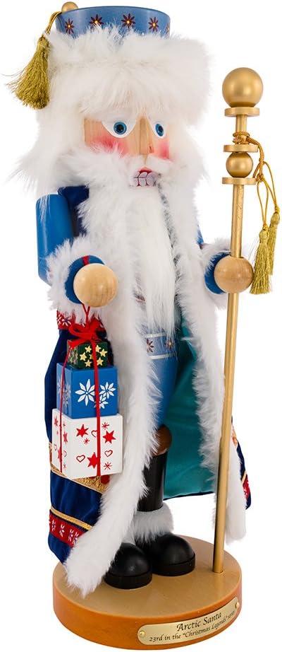 "Kurt Adler 18"" Steinbach Arctic Santa Nutcracker"
