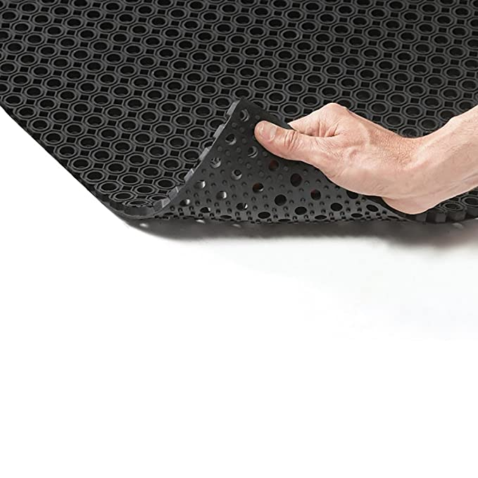 Ergonomic Technology Ringgummimatte - 5 Größen wählbar - 40x60cm ...