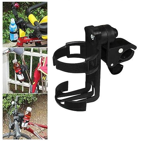 Cinhent Bike Cup Holder Cochecito Portabotellas Portabotellas Soporte de liberación rápida Rotación de 360 Grados para