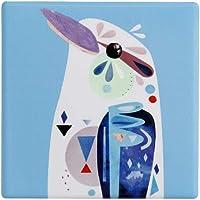 Maxwell & Williams Pete Cromer Ceramic Square Coaster 9.5cm Kookaburra