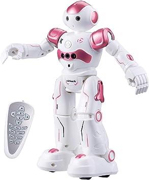 Singen und Tanzen wiederaufladbare Roboter f/ür Kinder Blau Vindany Intelligente RC Roboter Spielzeug Weihnachts-Geburtstagsgeschenk Fernbedienung Geste Steuerung Roboter Kit Programmierung