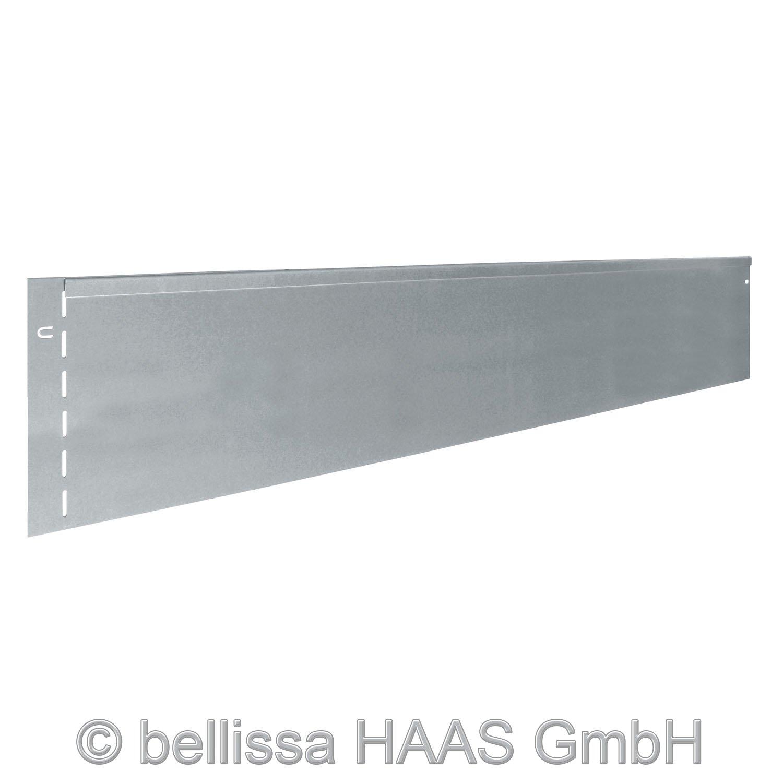 Rasenkante Metall L. 118 cm x H.20 cm (10)