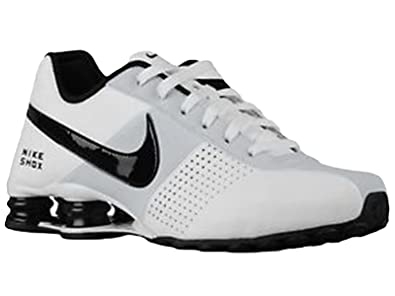e826cf7e7468d Image Unavailable. Image not available for. Color: Nike Men's Shox Deliver  Running Shoes White ...