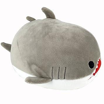 Amazon Com Garwarm Shark Stuffed Animals Plush Toy Nano Foam