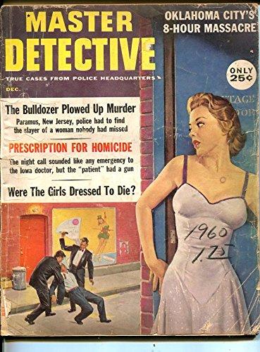 MASTER DETECTIVE- DEC 1960-SPICY-MURDER-VICE-RAPE-AXE MURDER-good G