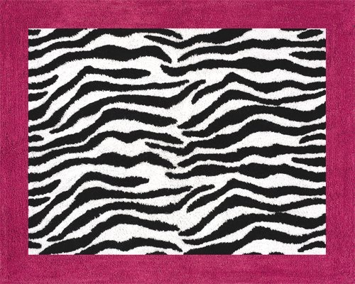 Sweet Jojo Designs Funky Zebra Accent Floor Rug by Sweet Jojo Designs