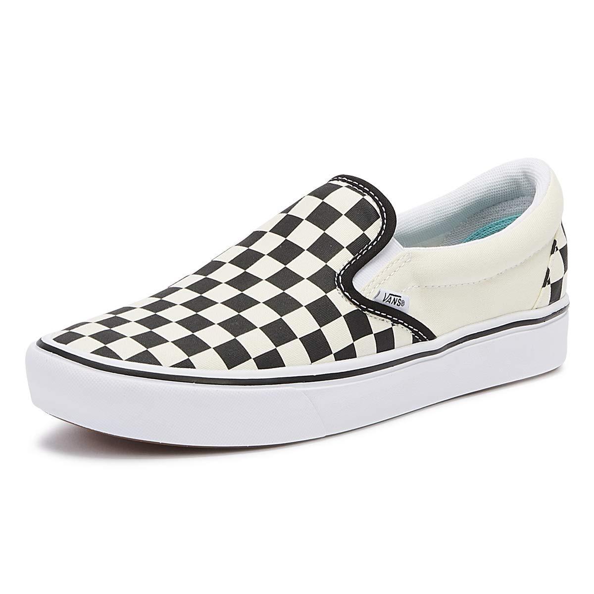 Vans ComfyCush Slip On Schuhe (Classic), Black Checkerboard, 38 EU