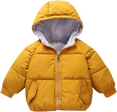 Lurryly❤Baby Girl Boys Hoodies Hooded Jacket Thick Coat Winter Warm Clothes Outerwear 1-5 Years