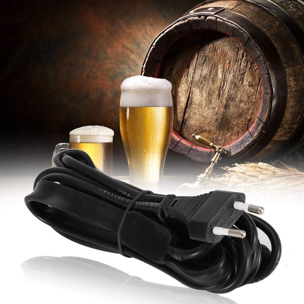 G/ärungsheizg/ürtel Pad Heizstreifen mit Bier Klebestift Thermometer Samen Start Heizung Ma f/ür Kr/äuterg/ärten EU-Stecker 20V-250V MEHRWEG VERPACKUNG