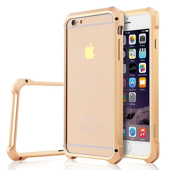 sports shoes 4f64b 1e4fa iPhone 6S Case, ENDLER [Iron Bumper] [Metal Aluminum Bumper] Screw ...