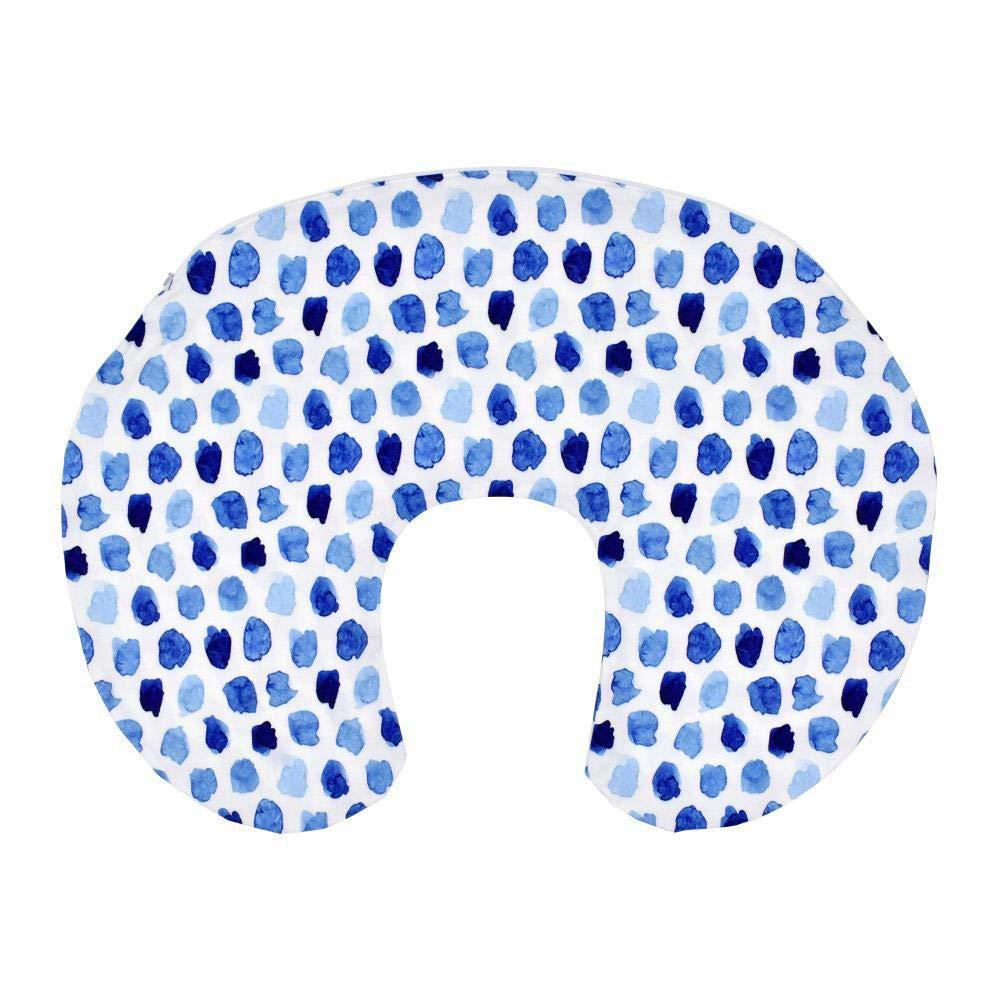 Hamkaw Housse de Coussin dallaitement 100/% Coton Biologique Nouveau-n/é Extensible Doux et Confortable pour Allaitement Maternel
