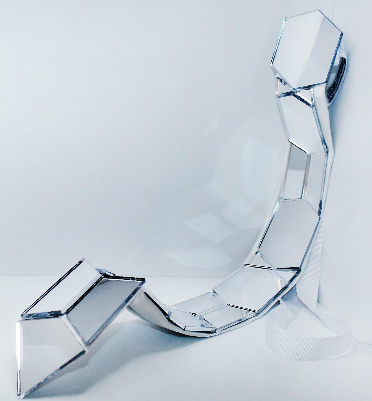 Corbatas Lazo espejo plexiglás