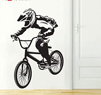 Bicicleta Biker BMX FREESTYLE Aficiones Vinilo Pegatinas de pared ...