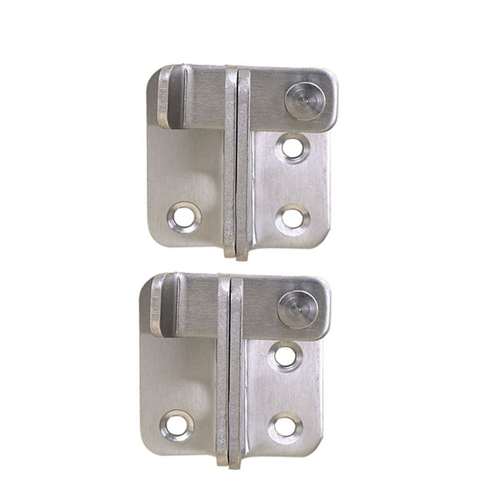 Haidong 2Pcs Heavy Duty Stainless Steel Door Hasp Bolt Lock Anti-theft Door Gate Latch Bolt Left open door