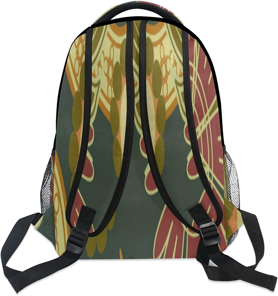 Backpack Bag Print Vector Backpack For Women Waterproof Casual Daypacks For Young Girls