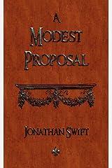 A Modest Proposal Paperback