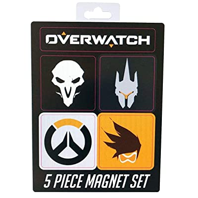 Blizzard Entertainment Overwatch 5Pc Magnet Set Collectible Toys: Toys & Games