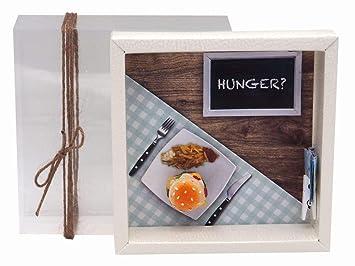 Zauberdeko Geldgeschenk Verpackung Hamburger Essen Gutschein Geschenkgutschein Restaurant Gutschein Dinner Geschenk