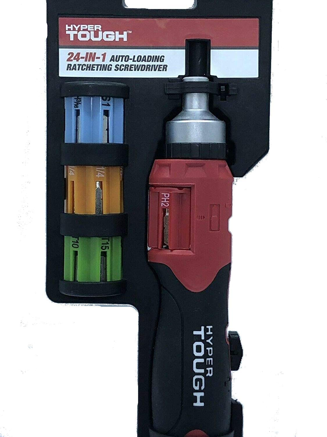 TMAL-002 Triplett 10-in-1 Mini Autoloading Ratcheting Screwdriver with Magnetic Bits