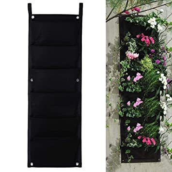 Amazon.com: 6Pockets 12x32Inch Fabric Wall Planter-Wall Hanging Pots on gladiolus in planters, unique succulent planters, orchid planters, green wall planters, decorative outdoor planters, fleur de lis planters, sympathy planters, burgundy planters, garden wagon planters, basket planters, zinnias in planters, gardening planters, planting flower planters, flower pots and planters, driftwood planters, moss planters, small succulent planters, strawberry planters, tiny planters,