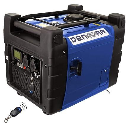Denqbar 3 6 kW E-Start + Remote Silent Suitcase Digital Inverter Generator