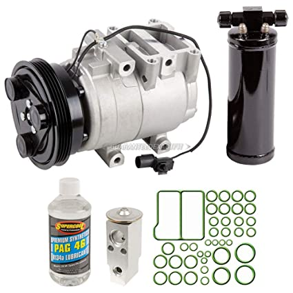Amazon.com: AC Compressor w/A/C Repair Kit For Kia Rio 2001 2002 - BuyAutoParts 60-80476RK NEW: Automotive