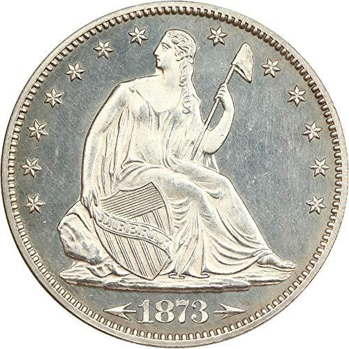 1873 P Liberty Seated Half Dollars (Proof) Arrows Half Dollar PR63 NGC