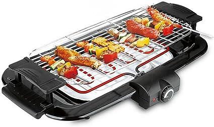 Parrilla El/éctrica Grande Grill Hot Plate Barbacoa Camping Cocina Jard/ín Superior