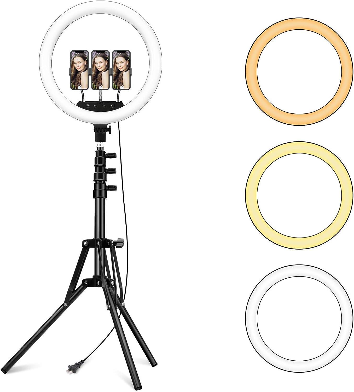 18 Zoll Led Ringlicht Mit Verstellbarem Stativ Ständer Kamera