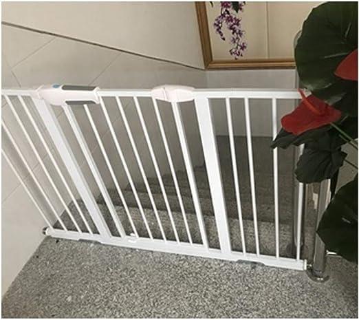 Barrera De Seguridad For La Seguridad Del Bebé Puertas Extra Ancho Escalera Barandilla Caminata A Través Del Aislamiento Del Animal Doméstico (Color : Hight76cm-width , Size : 225-233cm) : Amazon.es: Hogar