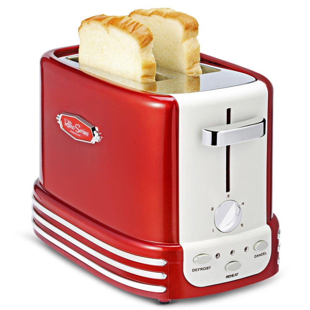 Nostalgia retro Series Toaster tostadora rodajas W