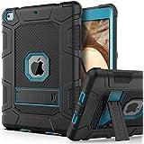 PBRO Case for iPad 9.7 2018/2017,iPad 9.7 iPad 5th / 6th Generation Shockproof Defender Kickstand Three Layer Protective…