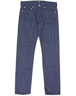 4b0f2471 Edwin ED-80 Slim Tapered Kingston Blue Denim, Cotton, 12oz Jean Rinsed