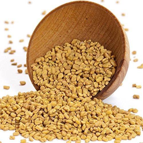Fenugreek Seeds - 1 resealable bag - 4 oz by Gourmet Food World