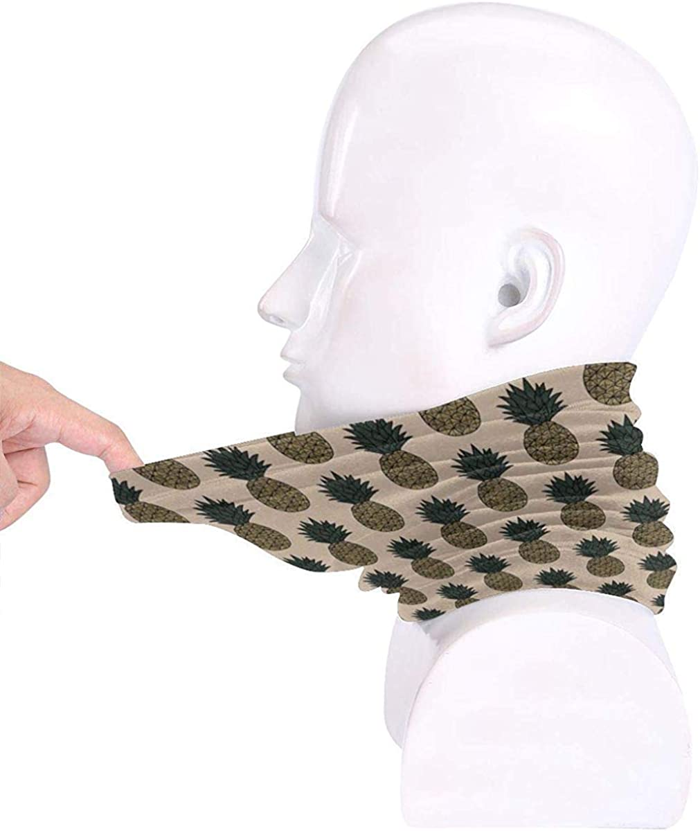 Bananas Microfiber Neck Warmer Balaclavas Soft Fleece Headwear Face Scarf Mask For Winter