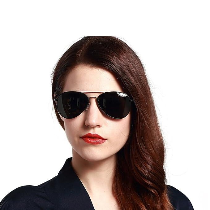 Amazon.com: YANJING Gafas de sol polarizadas para mujer ...