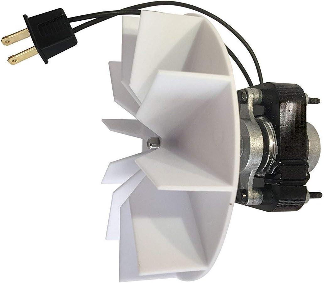 Universal Bathroom Vent Fan Ventilator Motor Exact Replacement For Broan Nutone 65100 Sm550 50cfm Amazon Com