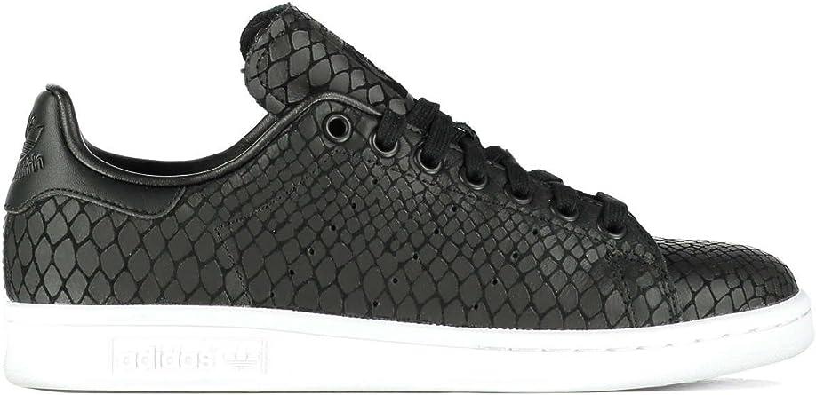 baskets adidas stan smith python noir femme
