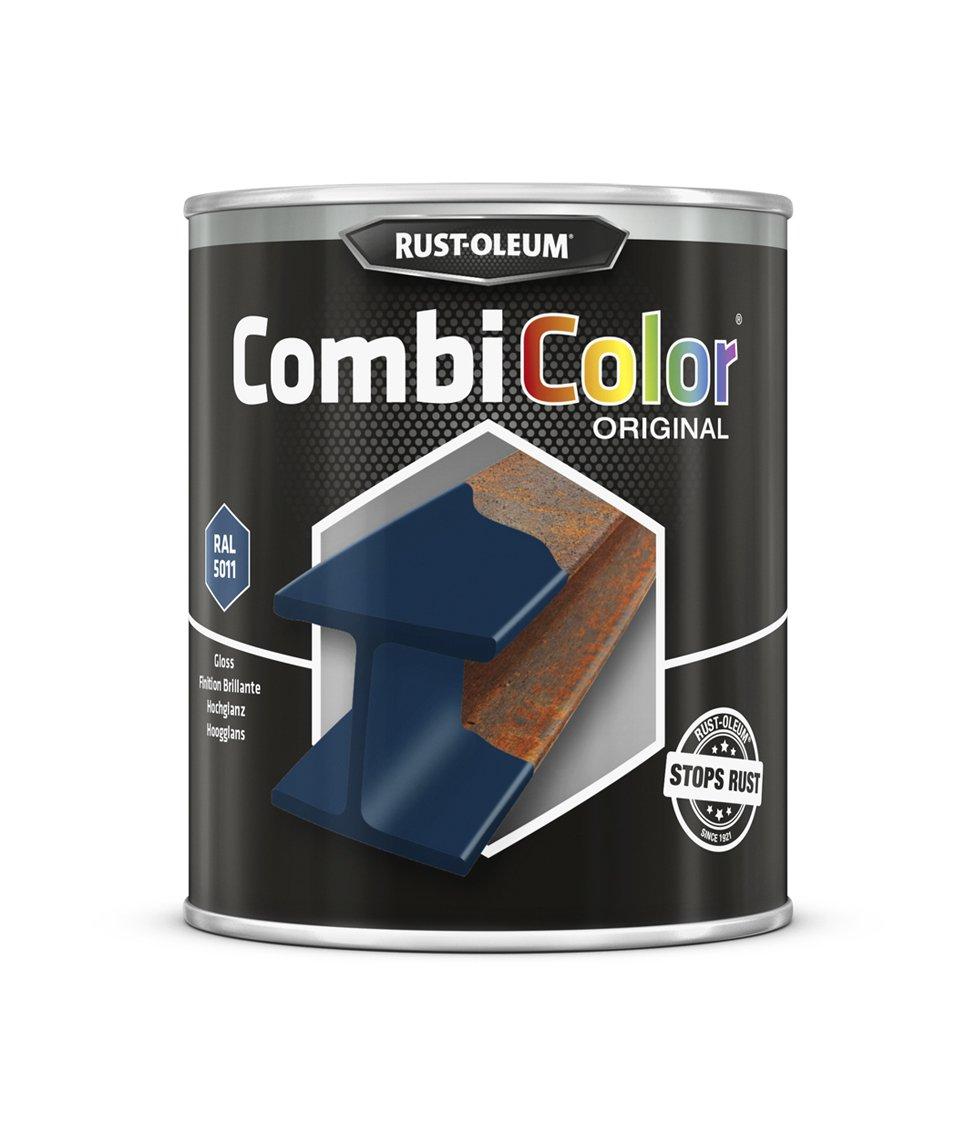 Rust-oleum 7329.0.75 CombiColor Original, protecció n Superior Metal, Directo a la corrosió n, acero azul –  RAL 5011 protección Superior Metal Directo a la corrosión acero azul-RAL 5011