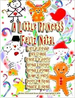 A Little Princess Feliz Natal Livro De Atividade Para Criancas