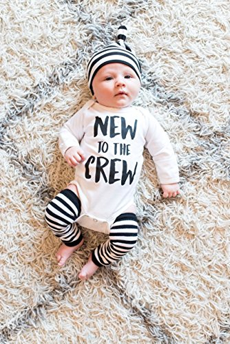 New to the Crew Baby Boy Outfit