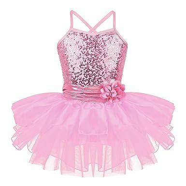 Freebily Vestido Maillot de Ballet Danza Cisne Maillots de Flor ...