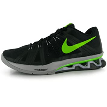 22e72e4fd14 Nike Reax LightSpeed Training Shoes Mens Black Green Fitness Trainers  Sneakers (UK11) (