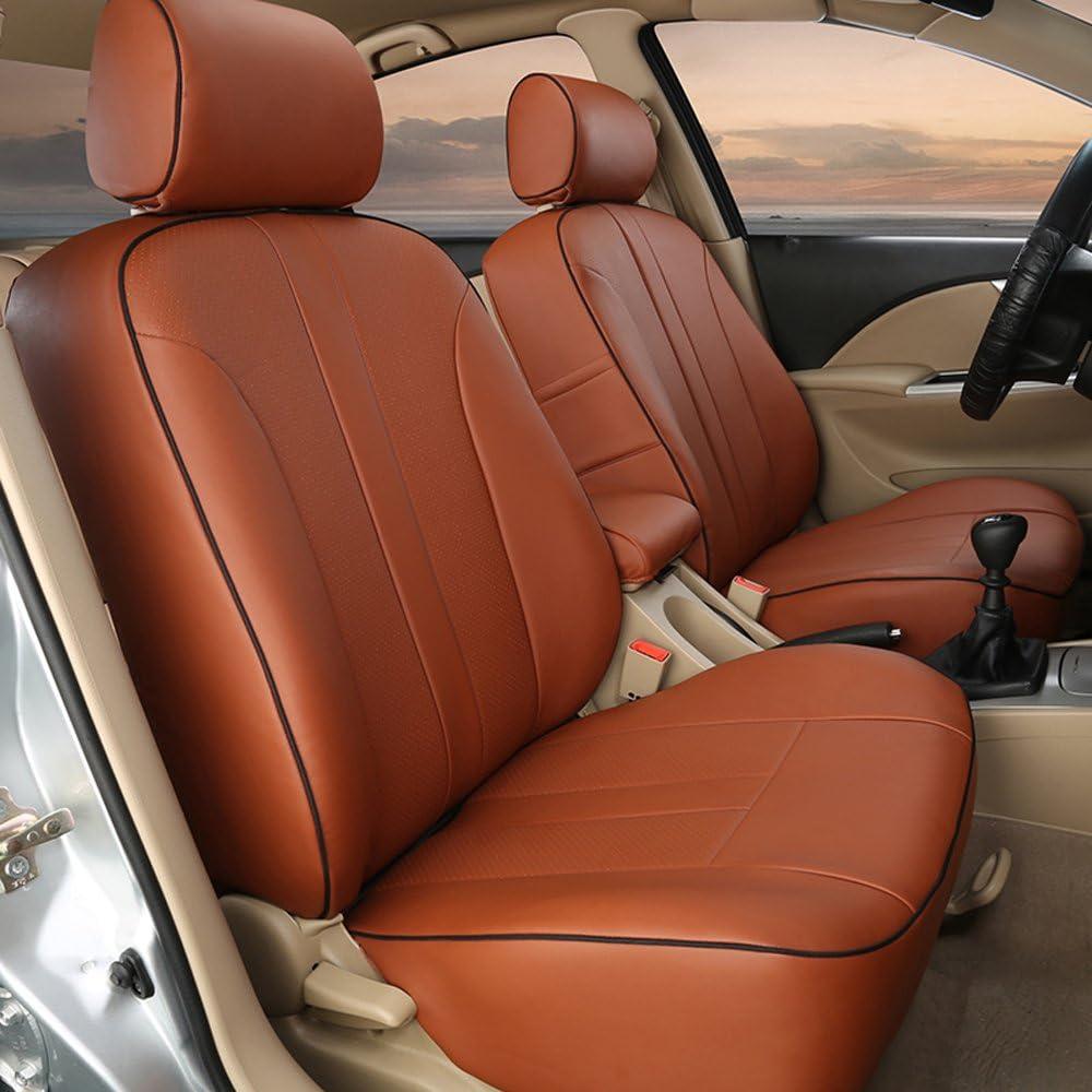 Cubiertas de asiento de coche Suzuki Jimny-juego completo de Cuero Sintético Rojo//Negro