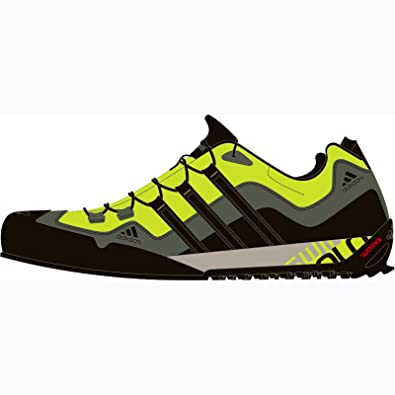 cheap for discount 734a8 ac09a Image Unavailable. Image not available for. Color  adidas outdoor Terrex  Swift Solo Approach Shoe ...