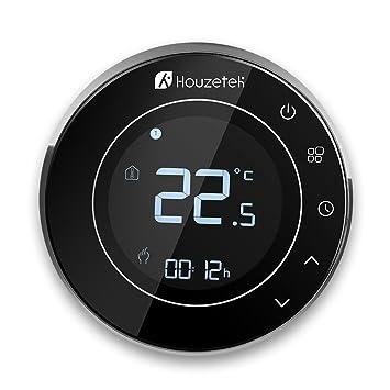 Termostato Wifi, Houzetek Termostato Inteligente Programable con ...