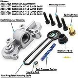 6.0 Blue Spring upgrade Kit Powerstroke Fuel Regulator Kit for 2003-2007 Ford F250 F350 F450 F550 E-350 3C3Z9T517AG