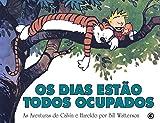 capa de Calvin e Haroldo - Os Dias Estão Todos Ocupados - Volume - 9